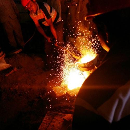 proses produksi cor logam