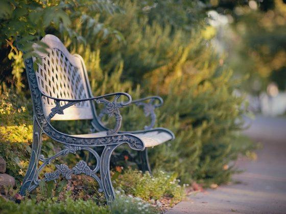 kursi taman
